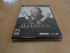 PS2 Hitman Contracts Playstation 2 BLACK LABEL NEW SEALED 2 DAY SHIPPING!