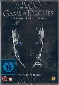 Game of Thrones Staffel 7 Neu und Originalverpackt 4 DVDs