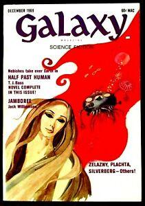 """""""Galaxy"""" Science Fiction (December 1969) ~ Magazine ~ Williamson - Zelazny"""