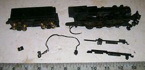 Vintage HO 2-8-0 All Metal Heavy Steam Locomotive by Penn Line/Bowser? w tender