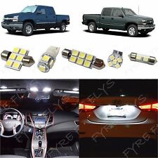 12x White LED light interior package 1999-2006 Chevy Silverado & GMC Sierra CS4W