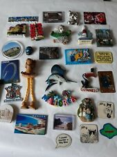 30 vintage  Fridge Magnets - Job lot Collection - Places UK abroad