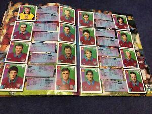 Merlin's Premier League 97 sticker Team Pages West Ham United