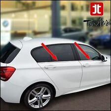 Strisce Cromate sotto finestrini Acciaio BMW Serie 1 F20 raschiavetri Profili
