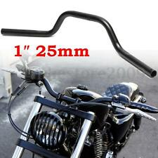 Motorcycle 1'' 25mm Handlebar Bars For Harley Davidson Chopper Dyna Cafe Racer