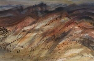 Kenneth Jack AM MBE RWS (Aust 1924-2006) Untitled Original Watercolour Painting