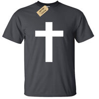 Kids Boys Girls CROSS T-Shirt Childrens