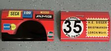 WOW!!!Curved Mercedes AMG 300sel Red Pig 6.8 Race Car Fender And Door Combo Sign