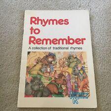 RHYMES TO REMEMBER. PRICE MILBURN, 0705511847