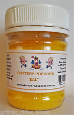 250g Jar Buttery Popcorn Salt, Cinema Quality Popcorn Salt, Popcorn Supplies