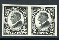US #611 Mint Never Hinged [MNH] Harding Memorial Horizontal  Pair    [MC6]