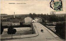 CPA  Chatel - Avenue de la Gare  (455602)