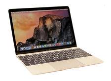 "Apple MacBook 12"" CORE M 1.2GHZ 8GB 512GB Space Grey A+ Grade 12 M Warranty 2015"