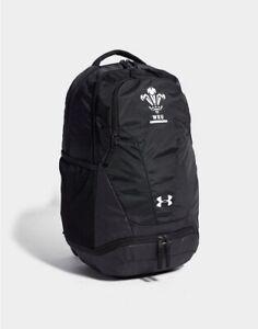 Under Armour Wales IOF Hustle Backpack Bag Welsh WRU Rugby