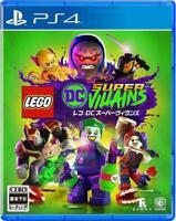 PS4 LEGO DC Super Villains Japan F/S