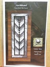 MARBLEHEAD FRENCH BRAID TABLE RUNNER SEWING PATTERN, From Cotton Tales Patterns