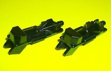 VTG 80's VOLTRON Real Pair 2 Tail Gun Weapons BLACK LION Action Figure Accessory