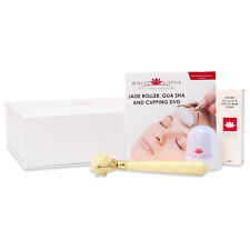 White Lotus Jade Roller Stretch Marks and Anti Cellulite Massager Pack