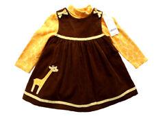 Girls NWT Gymboree Baby Giraffe 2 Pc Dress Bodysuit 6 12 18 m Party Portrait NEW
