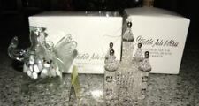 2 for 1 Elegant Handmade Studio Art Glass Angel and Castle