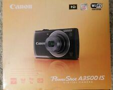 Canon PowerShot A3500 IS 16.0MP Digital Camera - Red