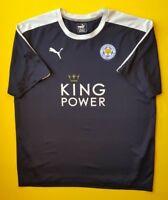 Leicester City jersey XL away shirt Puma soccer football ig93