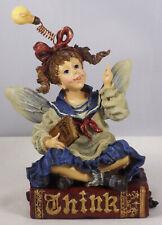 """Boyds Wee Folkstone Figurine, Cerebella """"Smarty� – Faerienoggin, #36201, New"""