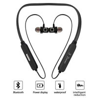 Bluetooth 5.0 Sports Headphones Headset Earbuds with Mic Noise Cancelling HD AU