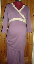 Front Opening Maternity Nightwear Pyjama Sets