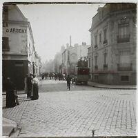 Francia Menton Costa Azure Stereo L28n Placca Da Lente Vintage c1910