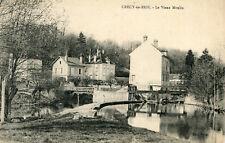 Carte CRECY LA CHAPELLE en Brie Le Vieux Moulin