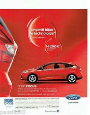 PUBLICITE ADVERTISING  116  2013  la Ford Focus Synk  ecoboost