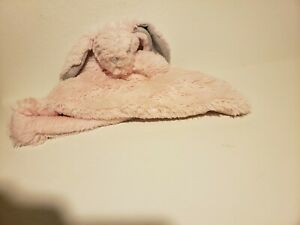 Blankets and Beyond Pink Super Soft Plush Security Bunny Rabbit Lovey (H8)