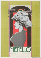 Movie Poster Metello 1970 Cinema Art Karel Machalek Graphic Design