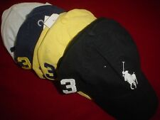 Ralph Lauren Men's Women's Unisex Baseball Golf Cap Hat Big Pony New