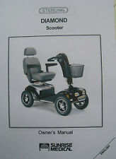 Sterling DIAMOND Scooter User Owner Instruction Manual Guide