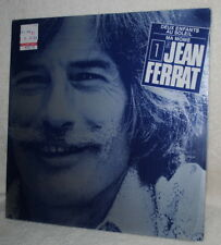 Jean Ferrat, LP record, 1961, FRANCE, SEALED
