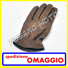 GUANTI ALPINESTARS HERO VENTED TOURING ROAD PELLE NERO LEATHER BLACK TAGLIA M