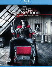 Sweeney Todd  NEW BLU-RAY FREE SHIPPING!!!