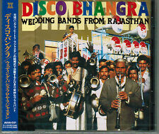 DISCO BHANGRA-WEDDING BANDS FROM RAJASTHAN rare Jpn CD