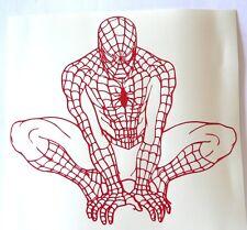 adesivo Spiderman uomo ragno spider man sticker decal film web amazing marvel