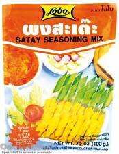 LOBO SATAY SEASONING MIX 100g Thai, Chinese food - Chicken skewers kebabs spice