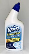 The Works Classic Toilet Bown Cleaner - 60ml, 2 Pack