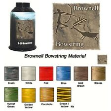 BLACK - 1/4 lb Spool Brownell B-50 DACRON BOWSTRING MATERIAL Archery Bow String
