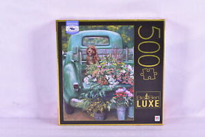 """Big Ben Luxe : 500 Piece Flower Delivery Jigsaw Puzzle, 18 x 24"""""""