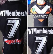 Wests Tigers Luke Brooks Signed Game  Players Jersey Issue 2014
