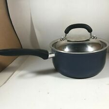 T-FAL 720 Saucepan with Lid Metallic Blue