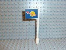 LEGO ® Space Classic bandiera bandiera per 6970 BETA Command Base 3596pb06 1980 k283