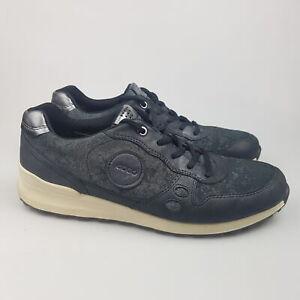 Women's ECCO 'CS14' Sz 40 / 9/9.5 US Shoes Black Leather   3+ Extra 10% Off