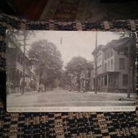 Front Street, Belvidere New Jersey VINTAGE POSTCARD postmarked 1922